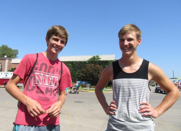 Josh and Cole